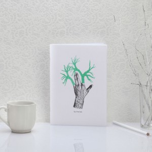 Green hand - Carnet - Notebook